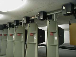 Indoor Range Shooting Lanes