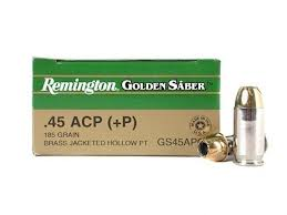 Remington Golden Saber Ammo .45 ACP