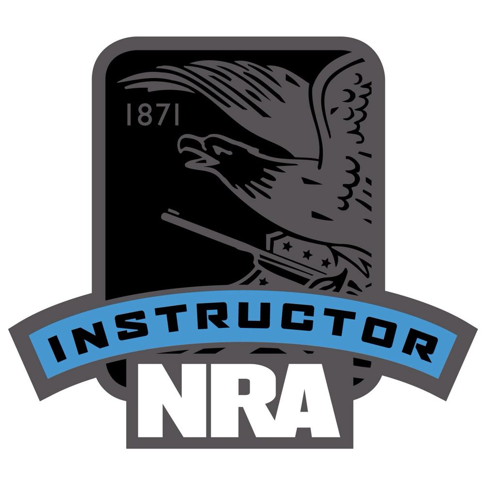 NRA Instructor Plaque