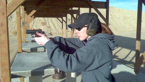 Women With Firepower at the range