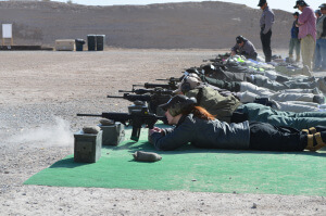 Women with firepower on the firing line