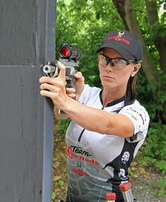 3-gun Woman Competition Pistol Stage