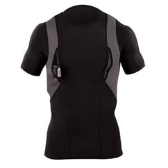 Mens Undershirt with Built in Gun Compartment