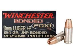 Winchester Personal Protection 9mm +P