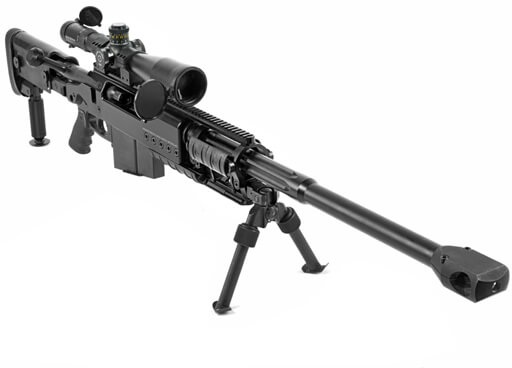 Barrett .50 cal Sniper Rifle with Scope