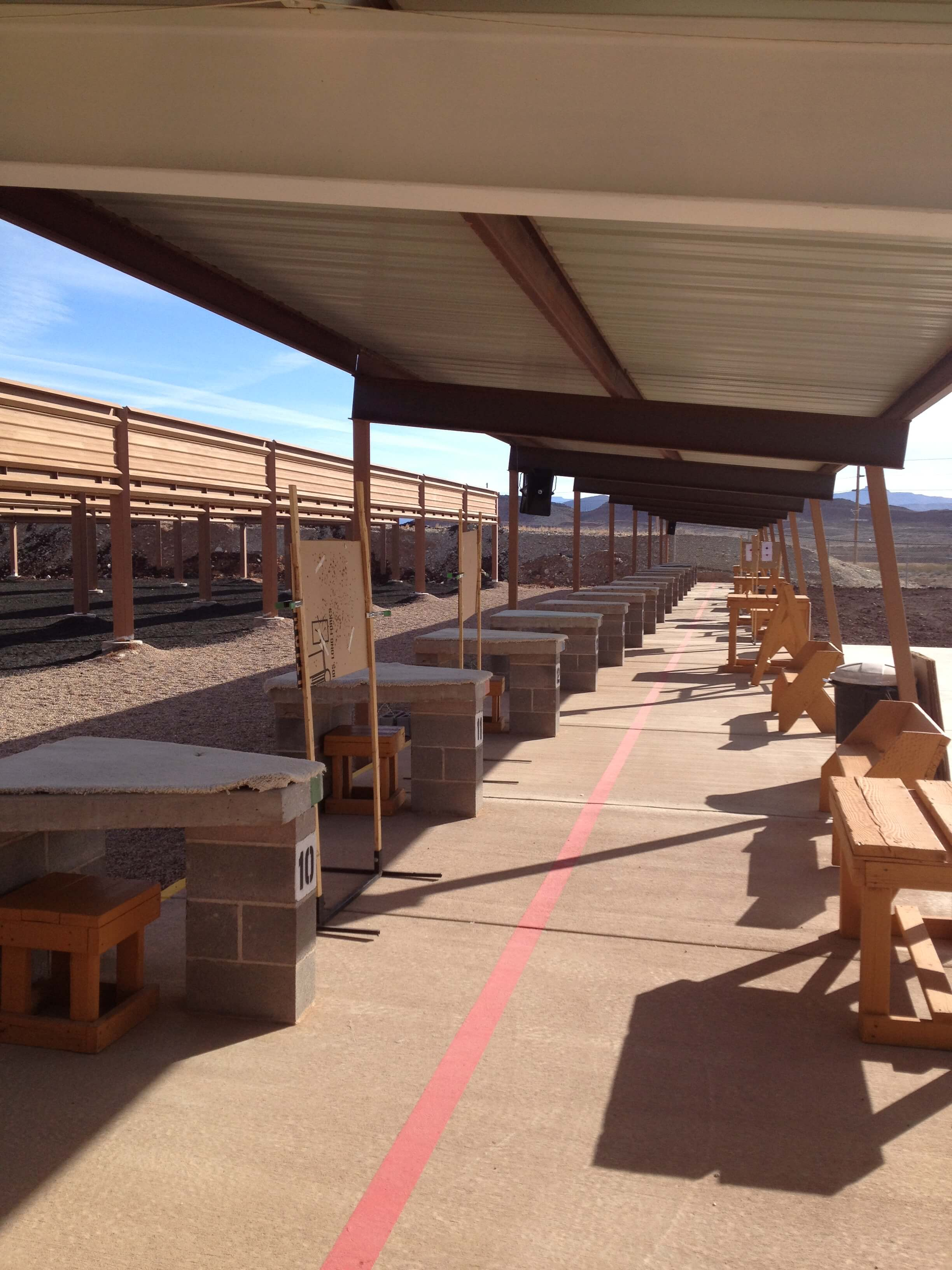 Outdoor Shooting Lanes