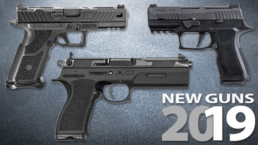 66 New Handguns For 2019