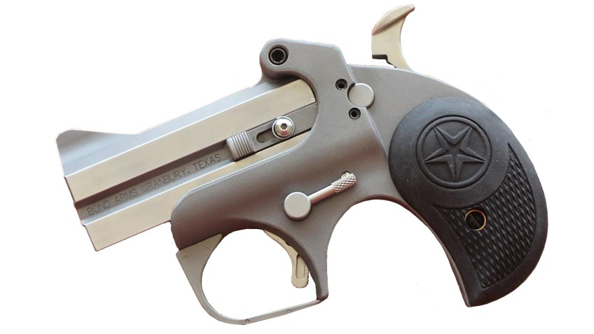 Tested: Bond Arms' New Rough Series Budget Friendly Double-Barrel Pistols
