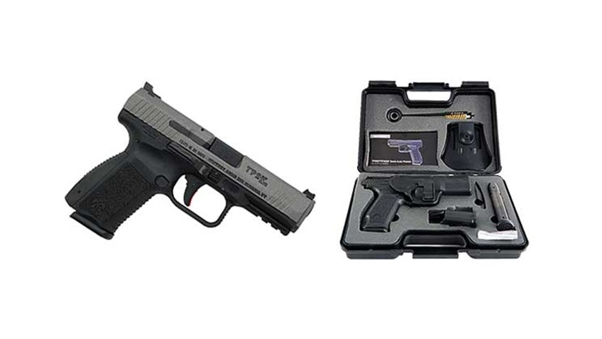 Testing The Canik TP9SF Elite Pistol