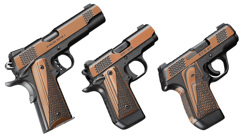 Kimber Raptor Collector's Edition Pistols