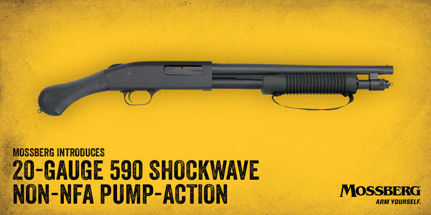 Latest In The Mossberg 590 Shockwave Series:The Nightstick