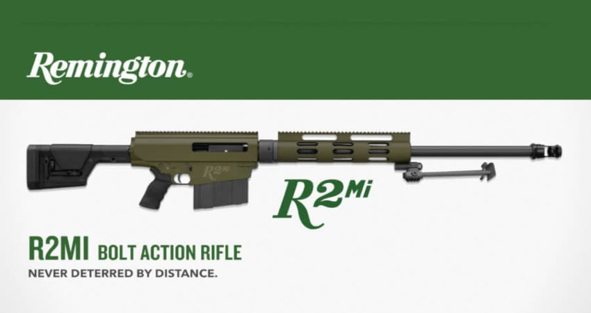 Remington R2Mi 50 BMG Bolt-Action Rifle
