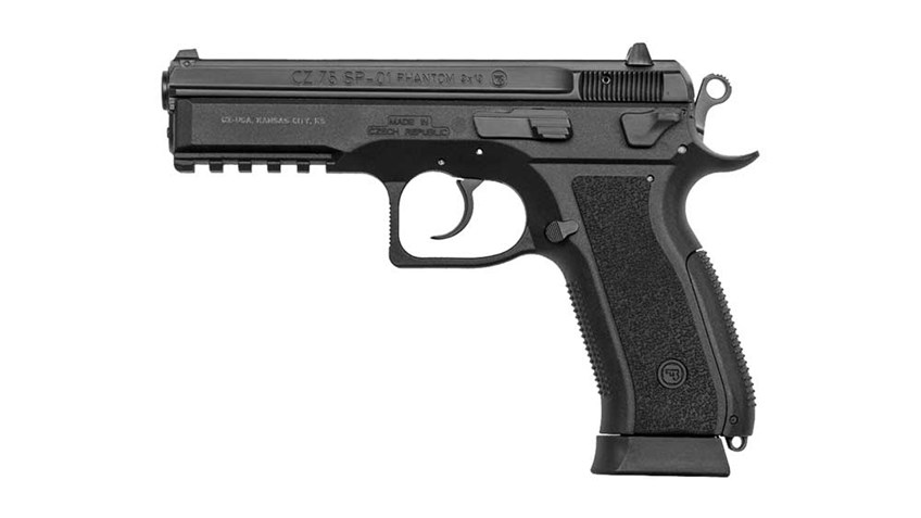 Gun Review: CZ-75 SP-01 Phantom