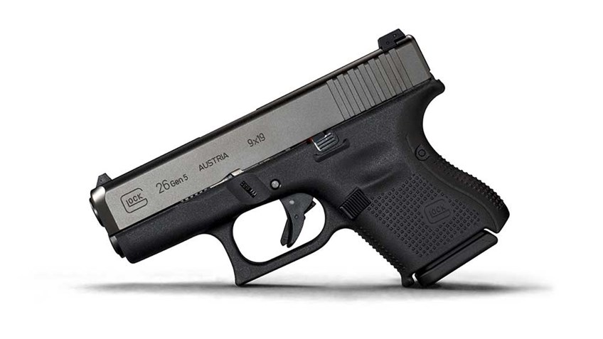 New for 2018 Glock G26 Gen 5
