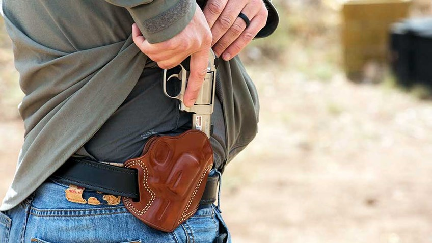 Testing Concealed Carry Methods At Gunsite Academy