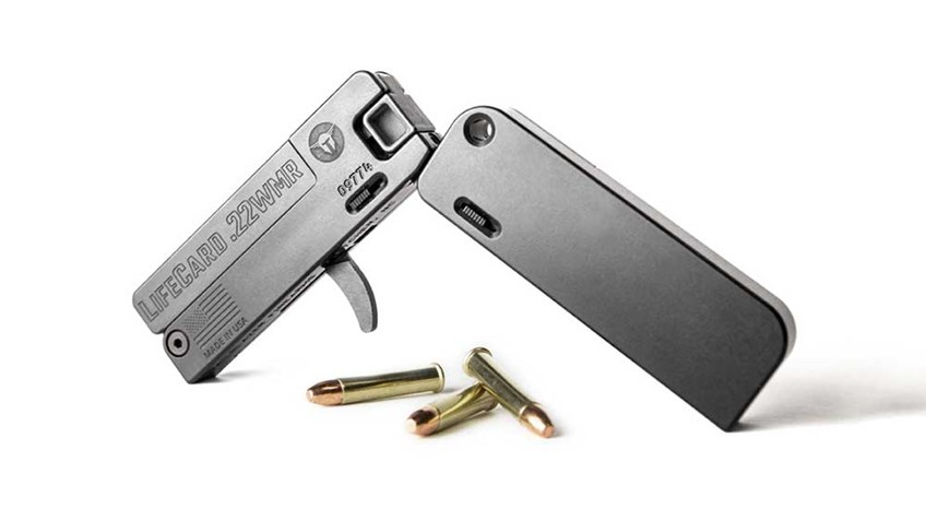 New for 2019: Trailblazer Firearms LifeCard in .22 WMR
