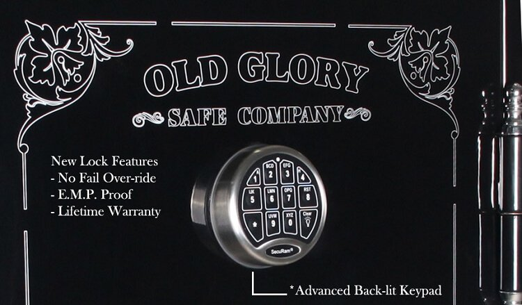 New High Tech Gun Safe By Old Glory Safe Co