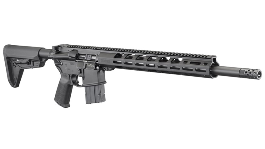 Ruger AR-556 MPR Rifle Now In .450 Bushmaster