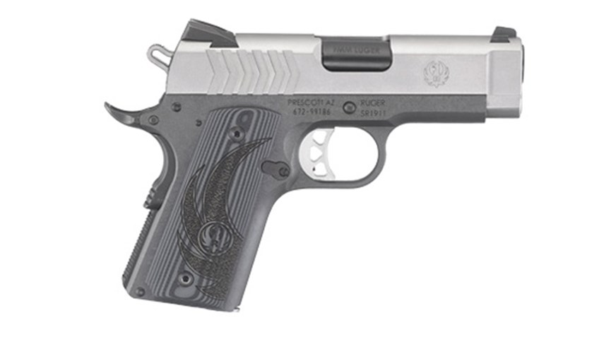 Ruger 9 mm SR1911 Officer's Model