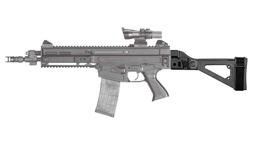 First Look: SB Tactical CZ 805 Bren Folding Arm Brace