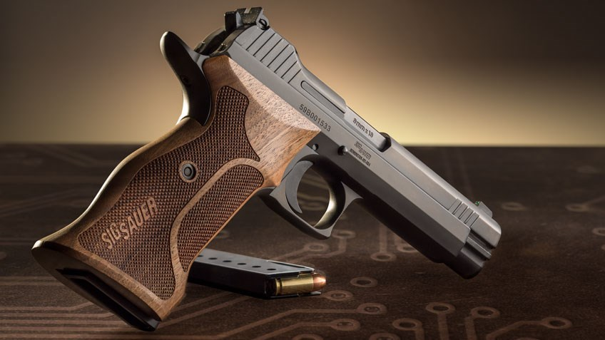 SIG Sauer's Made-In-America P210 Pistol