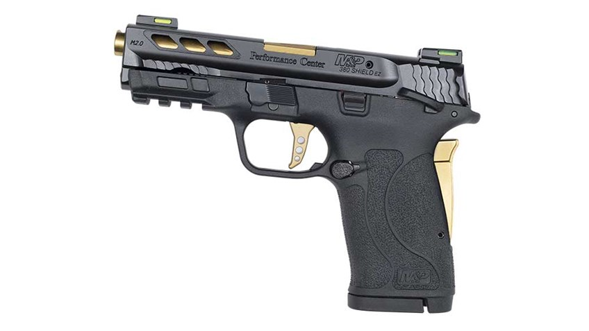 New for 2019: S&W Performance Center M&P 380 Shield EZ