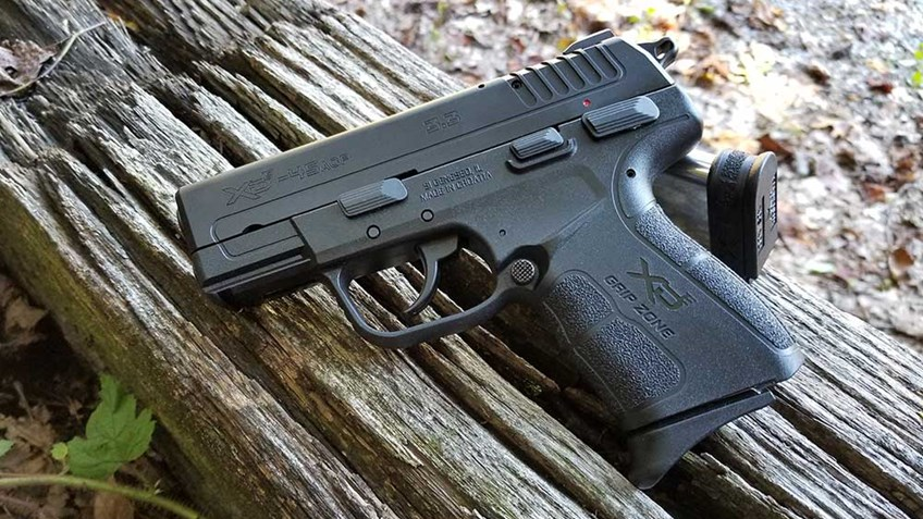 Range Review: Springfield Armory XD-E in .45 ACP