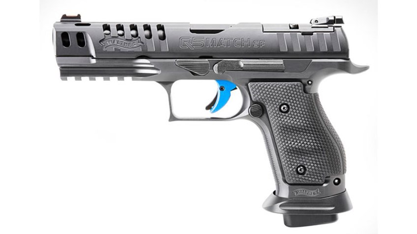 Tested: Walther Q5 Match 9 mm Pistols