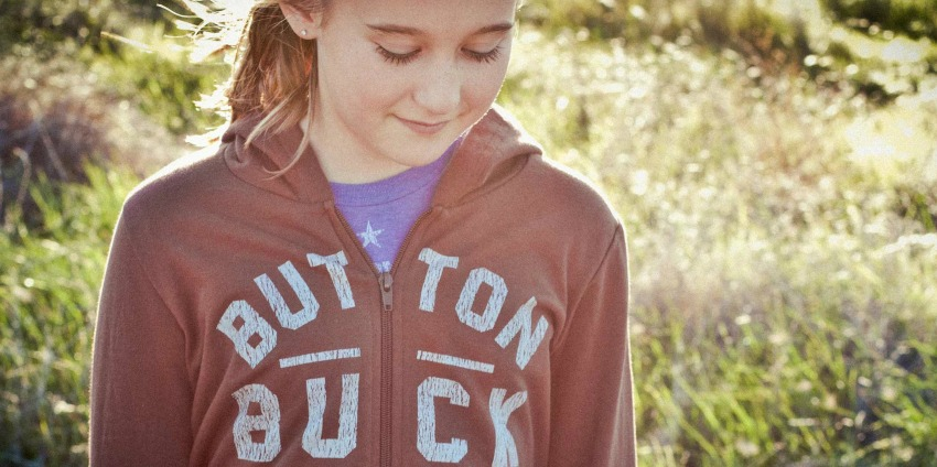 Button Buck Outdoor Clothing For Kids