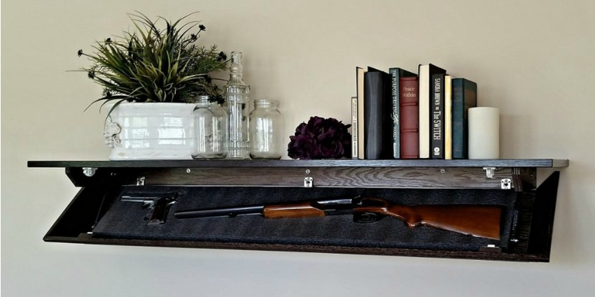 Covert Cabinets Custom Hidden Gun Storage