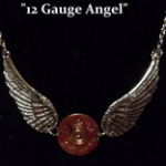 12 Ga Angel Necklace