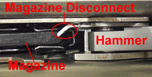 Magazine disconnect