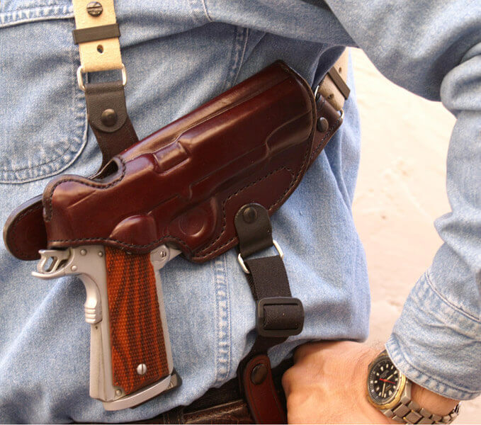 Shoulder Holster for Concealed Carry