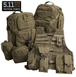 5.11 Tactical Backpacks and Pouches