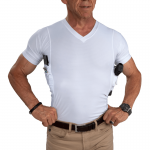 Executive Men's Concealment V-Neck Shirt Front
