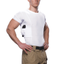 Men's Concealment V-Neck Single Shirt SM