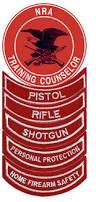 NRA Instructor Certification Patches
