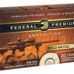 Federal Premium Launches Gold Medal Berger Target Loads